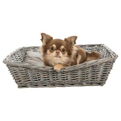 TRIXIE BE NORDIC Weidenkorb mit Kissen für Hunde und Katzen Preview Image