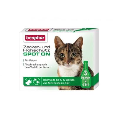 beaphar Katzen Zeckenschutz Flohschutz SPOT-ON