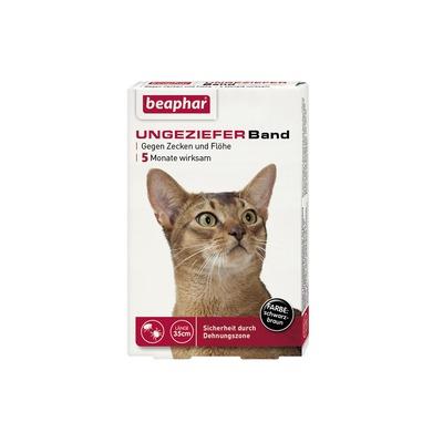 beaphar Ungezieferhalsband für Katzen, 35 cm