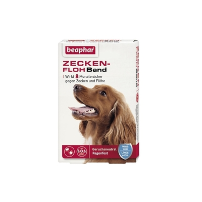 beaphar Zeckenhalsband Flohhalsband S.O.S  Hund