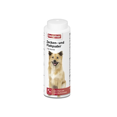 beaphar Zeckenpuder Flohpuder für Hunde