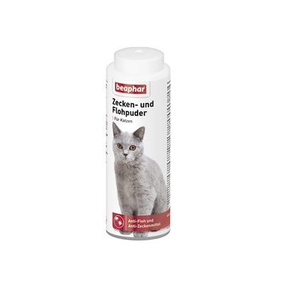 beaphar Zeckenpuder Flohpuder für Katzen, 100 g