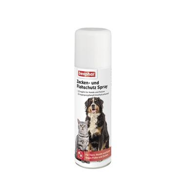 beaphar Zeckenspray Flohschutz-Spray