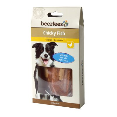 Beeztees Chicky Fish Hundesnack