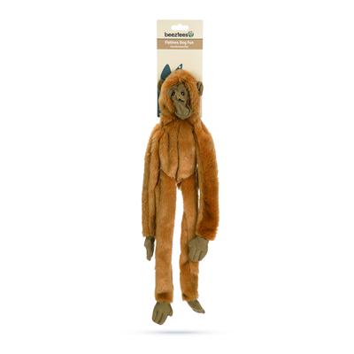 Beeztees Flatino Affe Plüschspielzeug für Hunde ohne Füllung Preview Image
