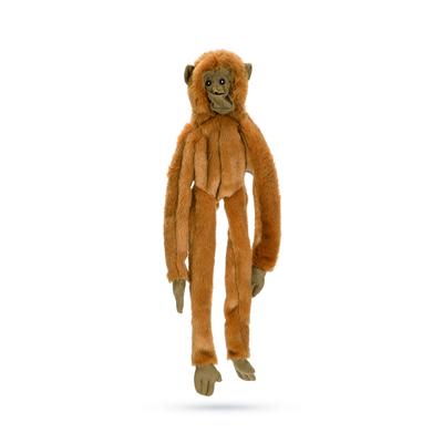 Beeztees Flatino Affe Plüschspielzeug für Hunde ohne Füllung