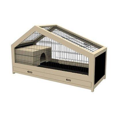 Beeztees Indoor Kaninchenstall Mex Holz