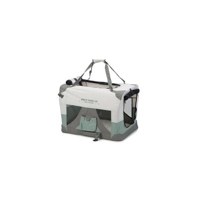 Beeztees Nylonbox für Hunde World Travel, faltbar, 60 x 42 x 42 cm, mintgrün