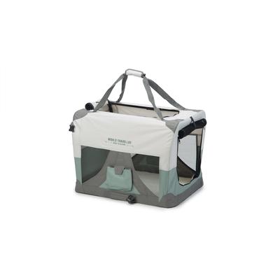 Beeztees Nylonbox für Hunde World Travel, faltbar, 70 x 52 x 52 cm, mintgrün
