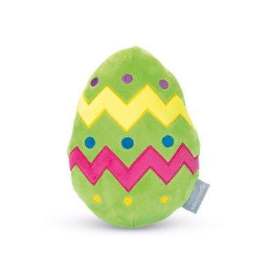 Beeztees Plüsch Spielzeug Buntes Ei