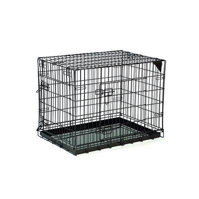 Beeztees Premium Bench Gitterbox für Hunde, 78 x 55 x 61 cm, braun