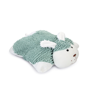 Beeztees Puppy Kuschelkissen Snuggy, 40 x 40 x 16 cm, mint