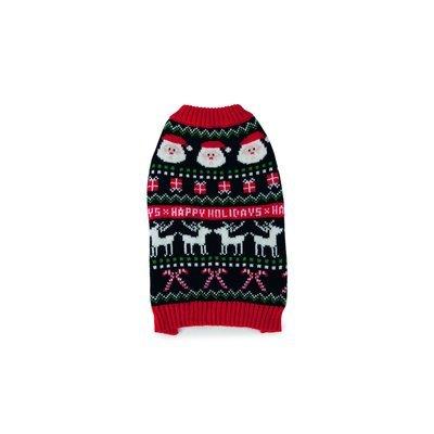 Beeztees Weihnachtspullover für Hunde Happy Xmas