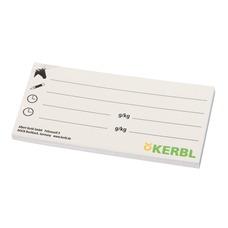 Kerbl Beschriftungskarte Futter für Eimerabdeckung
