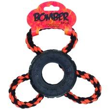 Zeus Bomber Tri Loop Zerrspielzeug für Hunde