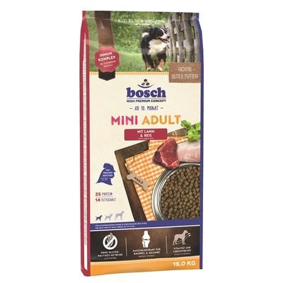 Bosch Adult Mini Lamm & Reis Hundefutter, 15 kg