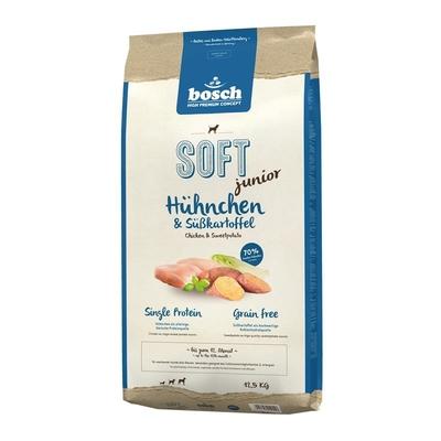 Bosch HPC Soft Junior Hühnchen & Süßkartoffel Hundefutter, 12,5kg