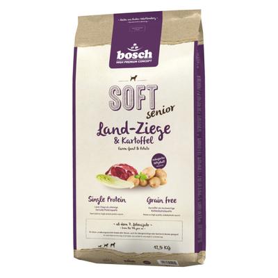 Bosch Soft Senior Ziege & Kartoffel, 12,5kg