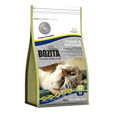 Bozita Adult Indoor & Sterilised Katzenfutter, 400g