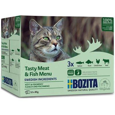Bozita Katzenfutter Multibox Häppchen in Gelee