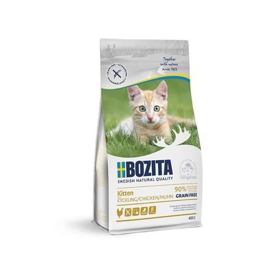 Bozita Trockenfutter Kitten Getreidefrei Huhn