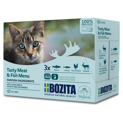 Bozita Katzenfutter Multibox Häppchen in Soße