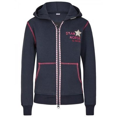 BUSSE Sweat Shirt Jacke Hoodie Star Horse