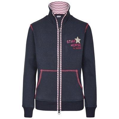 BUSSE Sweat Shirt Jacke Star Horse