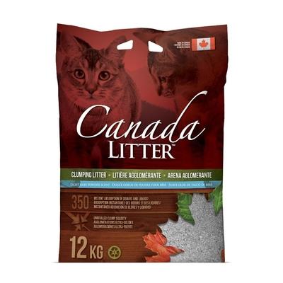 Canada Litter Katzenstreu mit Babypuder, 12kg