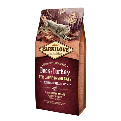 Carnilove Adult Large Breed Duck & Turkey Katzenfutter