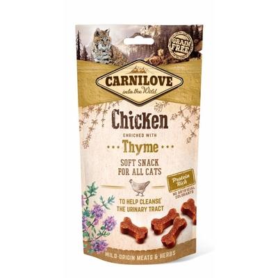 Carnilove Cat Soft Snack, Hund mit Thymian - 50 g