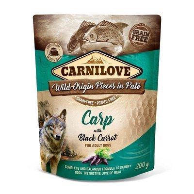 Carnilove Frischebeutel Karpfen & schwarze Karotte