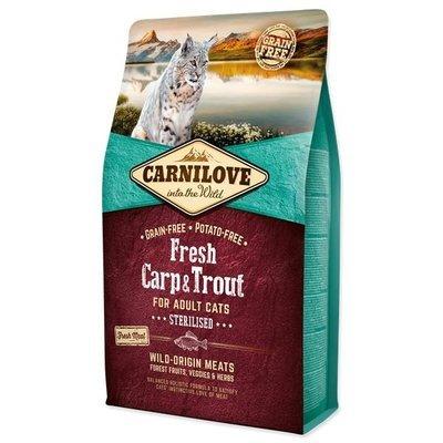 Carnilove Katzenfutter Fresh Carp & Trout Sterilised
