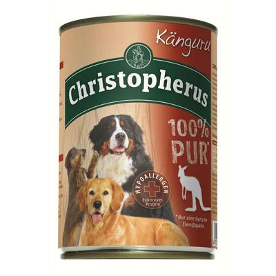 Christopherus 100% Pur Dosenfutter für Hunde