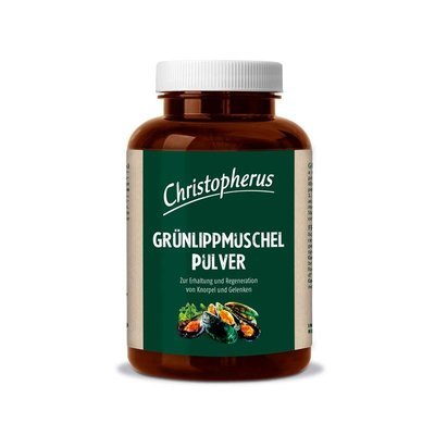 Christopherus Grünlippmuschel Pulver