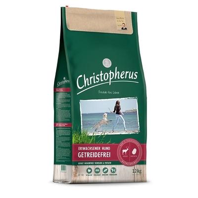 Christopherus Hirsch Kartoffeln getreidefreies Hundefutter, 12kg