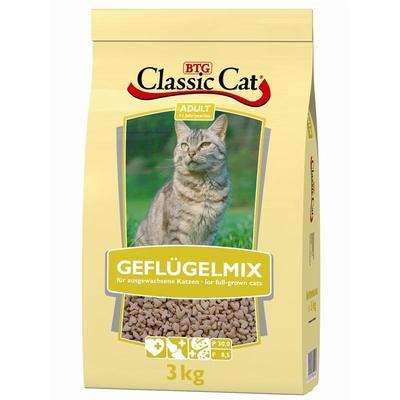 Classic Cat Geflügelmix Katzenfutter, 3 kg