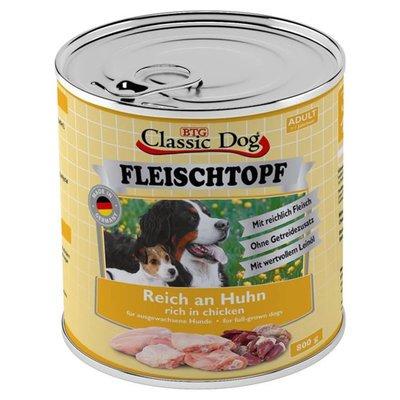Classic Dog Adult Fleischtopf Pur Reich an Huhn