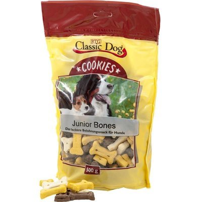 Classic Dog Hundesnack Cookies Junior Bones
