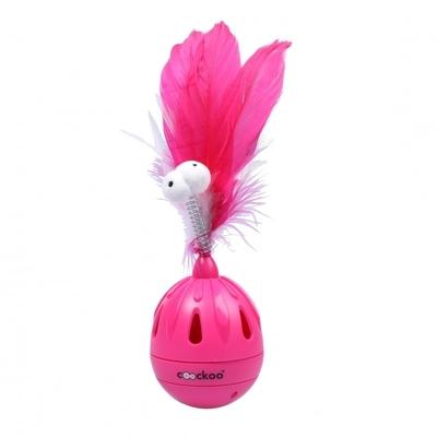 Coockoo Katzenspielzeug Tumbler, pink - 19,5x7 cm