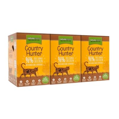 Natures Menu Country Hunter Katzenfutter Frischebeutel