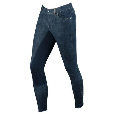 Covalliero Jeans Reithose Denim für Herren