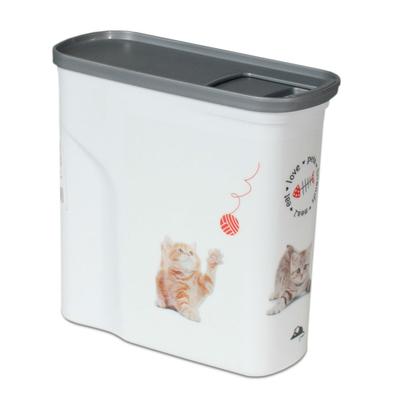Curver Futtercontainer Katze, 2l - 1kg Trockenfutter