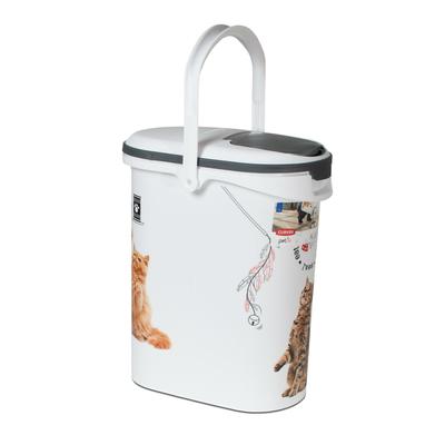 Curver Futtercontainer Katze, 10L - 4kg Trockenfutter