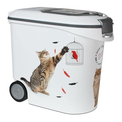 Curver Futtercontainer Katze, 35L - 12 kg Trockenfutter