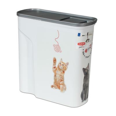 Curver Futtercontainer Katze, 6L - 2,5 kg Trockenfutter