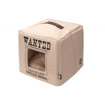 D&D Homecollection Wanted Katzenhöhle, 40x40x40cm, beige