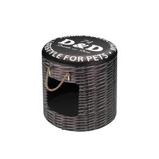 D&D Pet-Boxen Rattan Katzenhöhle