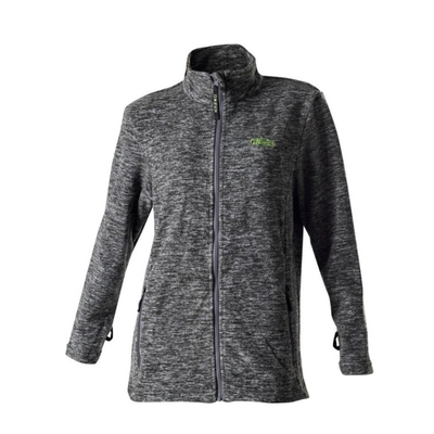Damen Fleecejacke Solo von Owney, M - grau
