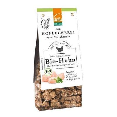 defu Hofleckerei für Katzen - Feine Häppchen vom Bio Huhn